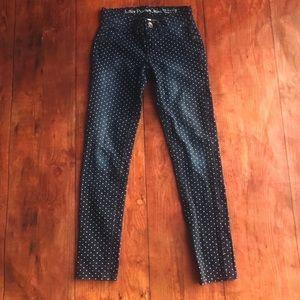 Justice Polka Dot Premium Jeans